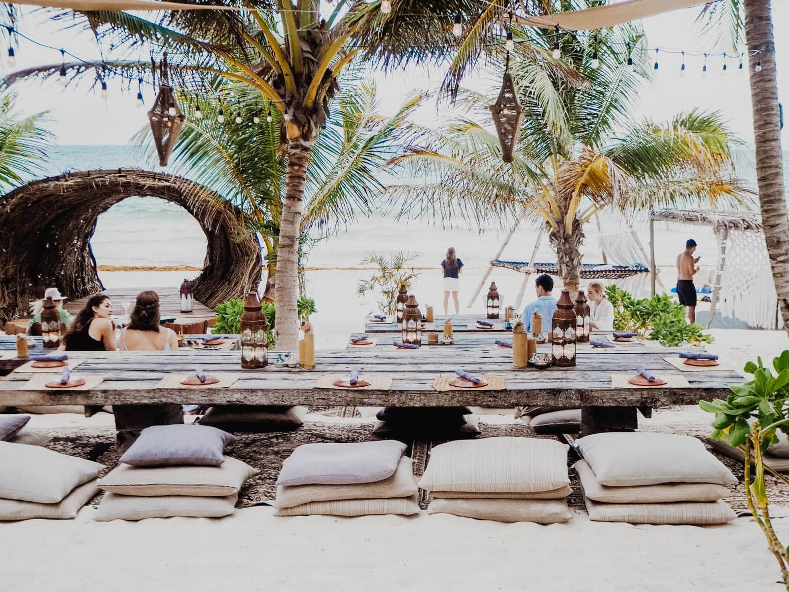 The essential Foodie's Guide to Tulum, Mexico: find out where to eat, play, shop, drink, and eat some more in the beachside paradise of Tulum!
