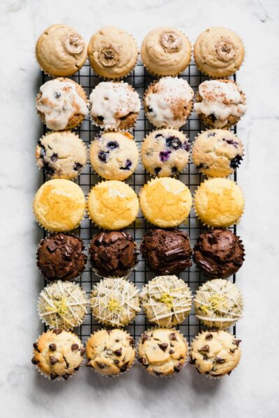 This Basic Muffin Recipe is anything but basic. This recipe is foolproof, with nearly unlimited variations from blueberry to cornmeal to gluten free & vegan