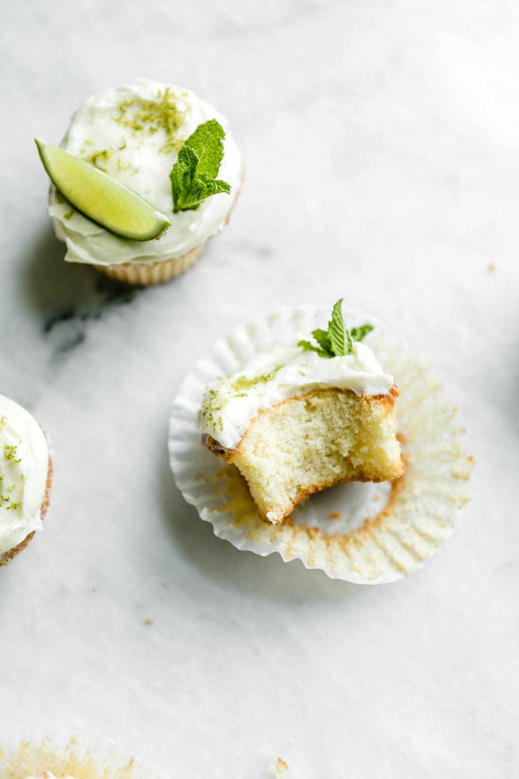 What could be better than boozy Lemon Mojito Cupcakes with a cream cheese frosting, mint, and lime zest? The answer is nothing, friends. Nothing.