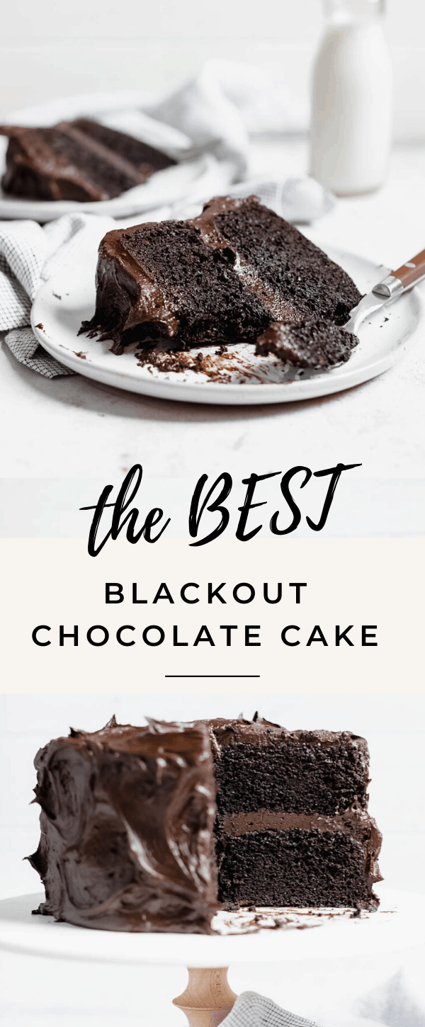 blackout chocolate cake recipe