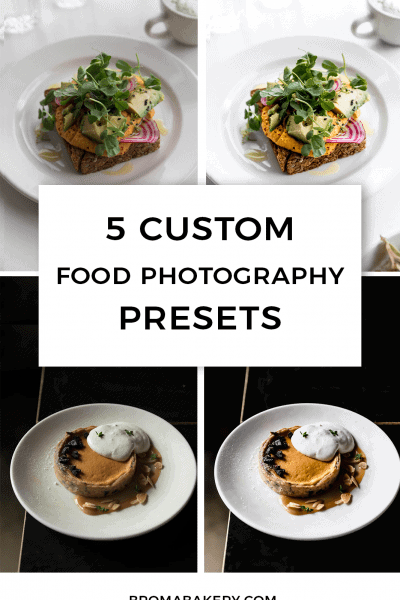 Editing can be difficult, especially if you're just starting out with food photography. To help, here are 5 custom Lightroom presets for food photography!