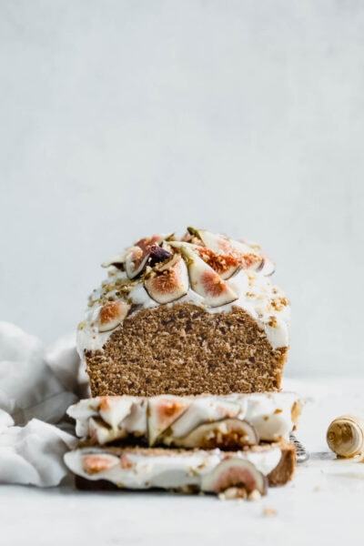 Fresh Fig Cake With Honey Cream Cheese Frosting