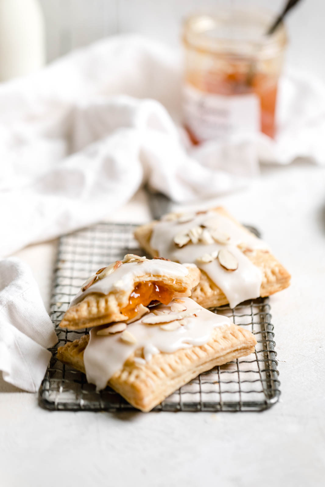 Homemade Apricot Almond Pop Tarts