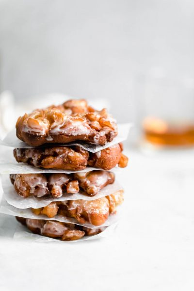 Sweet cinnamon and apples, perfectly fried dough, and bourbon come together to make theseAnnoyingly Addicting Bourbon Apple Fritters.
