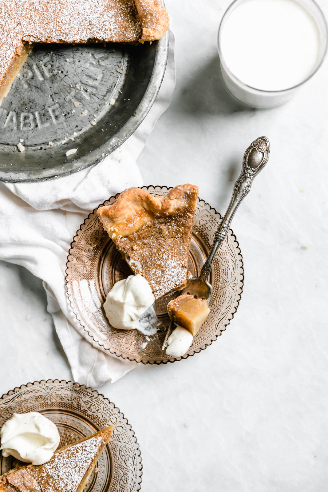 This is not your grandmother's chess pie. A luxurious combination of brown butter, maple, and custard make this Maple Chess Pie one for the books.