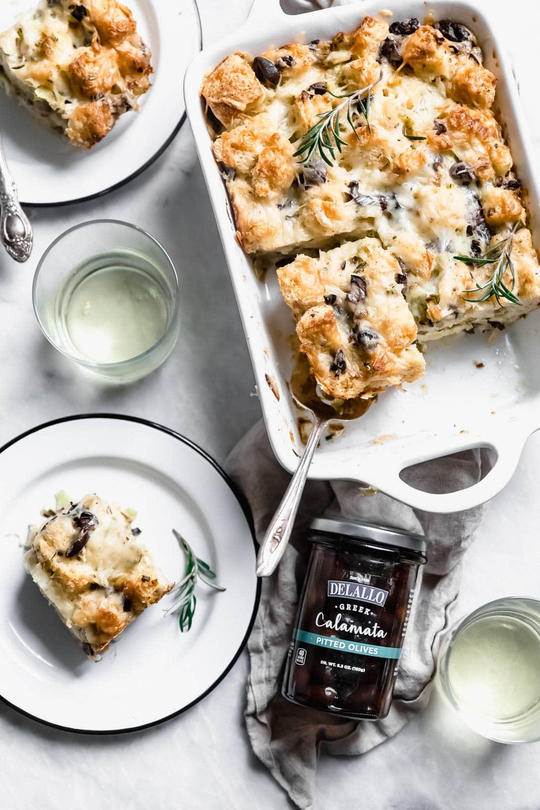 savory bread pudding