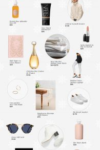The 2018 Holiday Gift Guide: For the BFF is filled with goodies for your BFF/ mom/ sister/ yourself (because you've worked hard this year & you deserve it!)