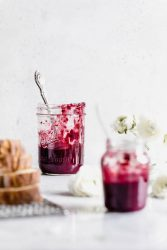 Why choose 1 when you can have 3? Bumbleberry Chia Jam made with raspberries, blueberries, and strawberries, all that summery sweetness without the sugar.