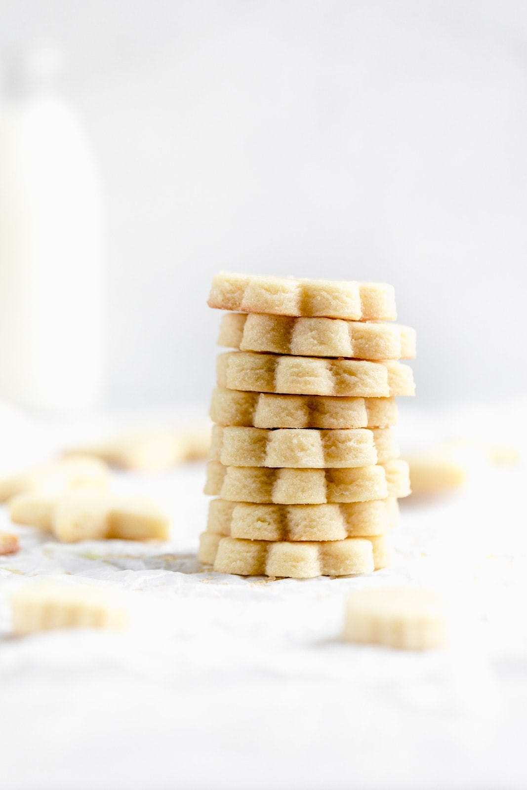 Get back to basics with these perfect cut out sugar cookie. Dense, chewy, and melt in your mouth buttery, we promise you won't be disappointed!