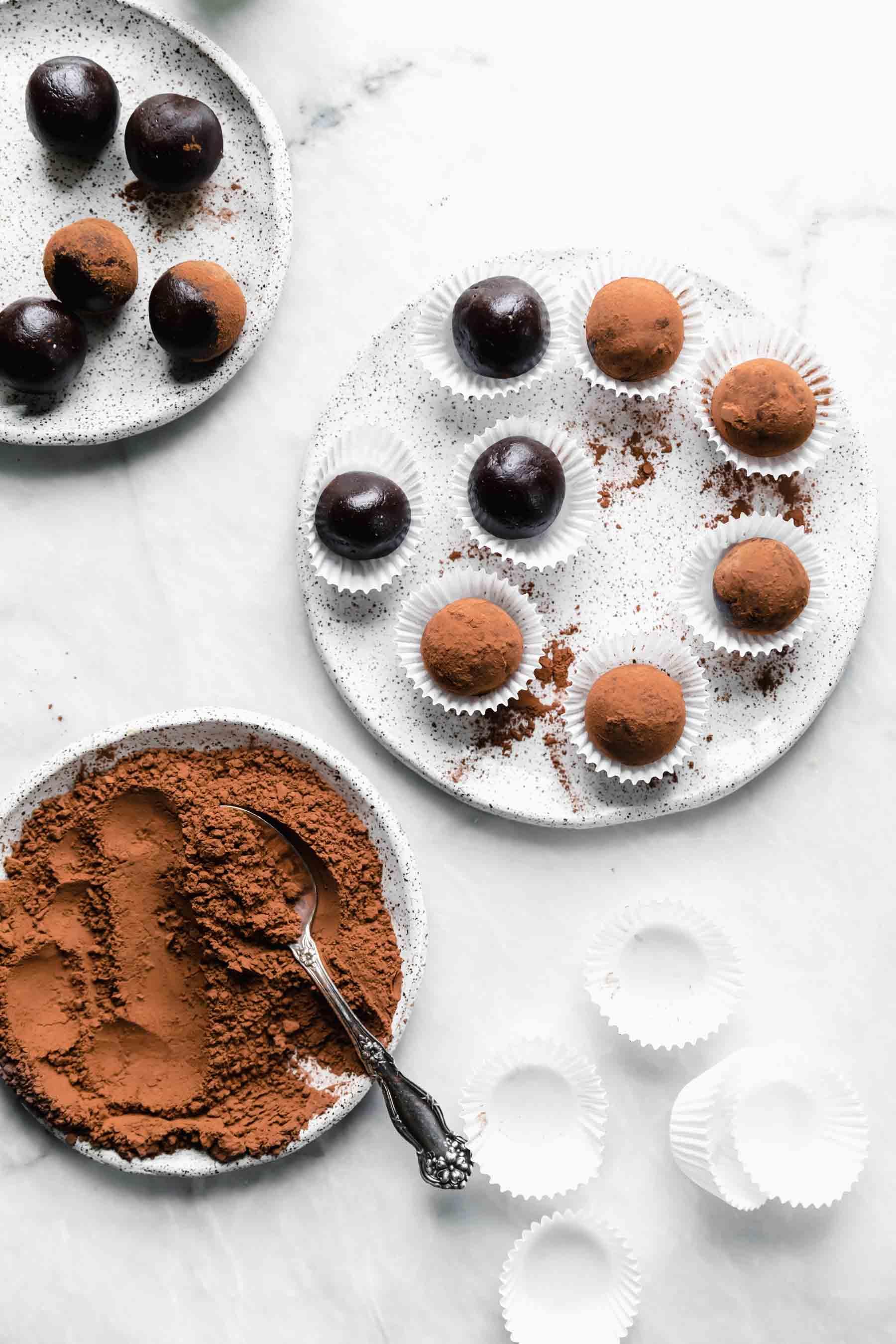 Healthy Vegan Brownie Truffles Broma Bakery