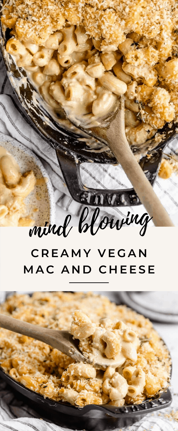 Introducing the dreamiest, cheesiest, most delicious vegan mac and cheese you'll ever have