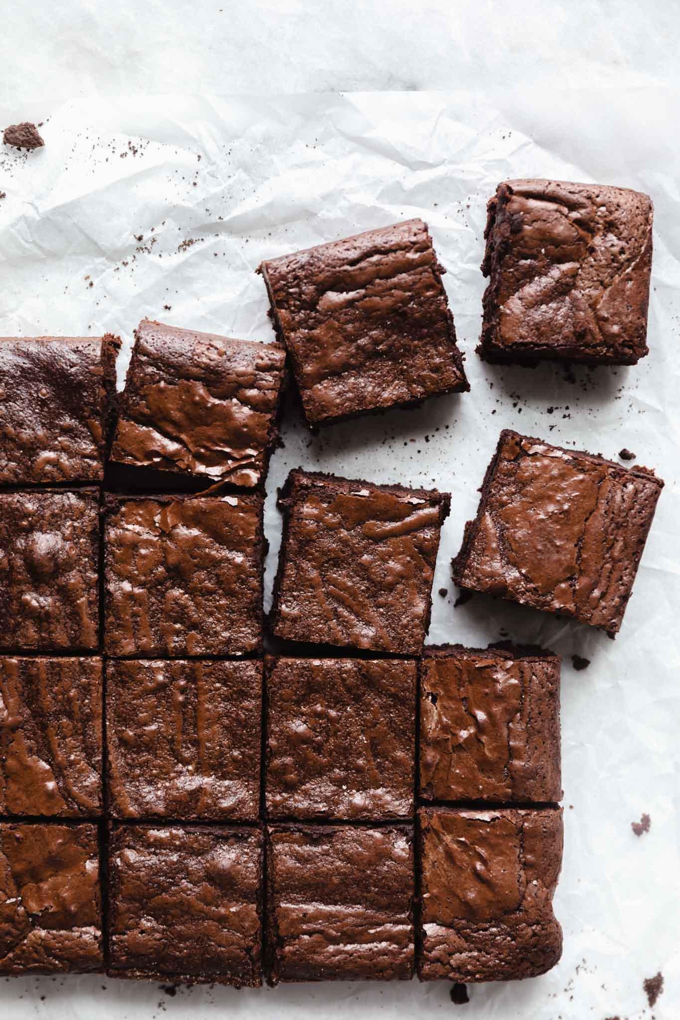 easy basic brownies recipe