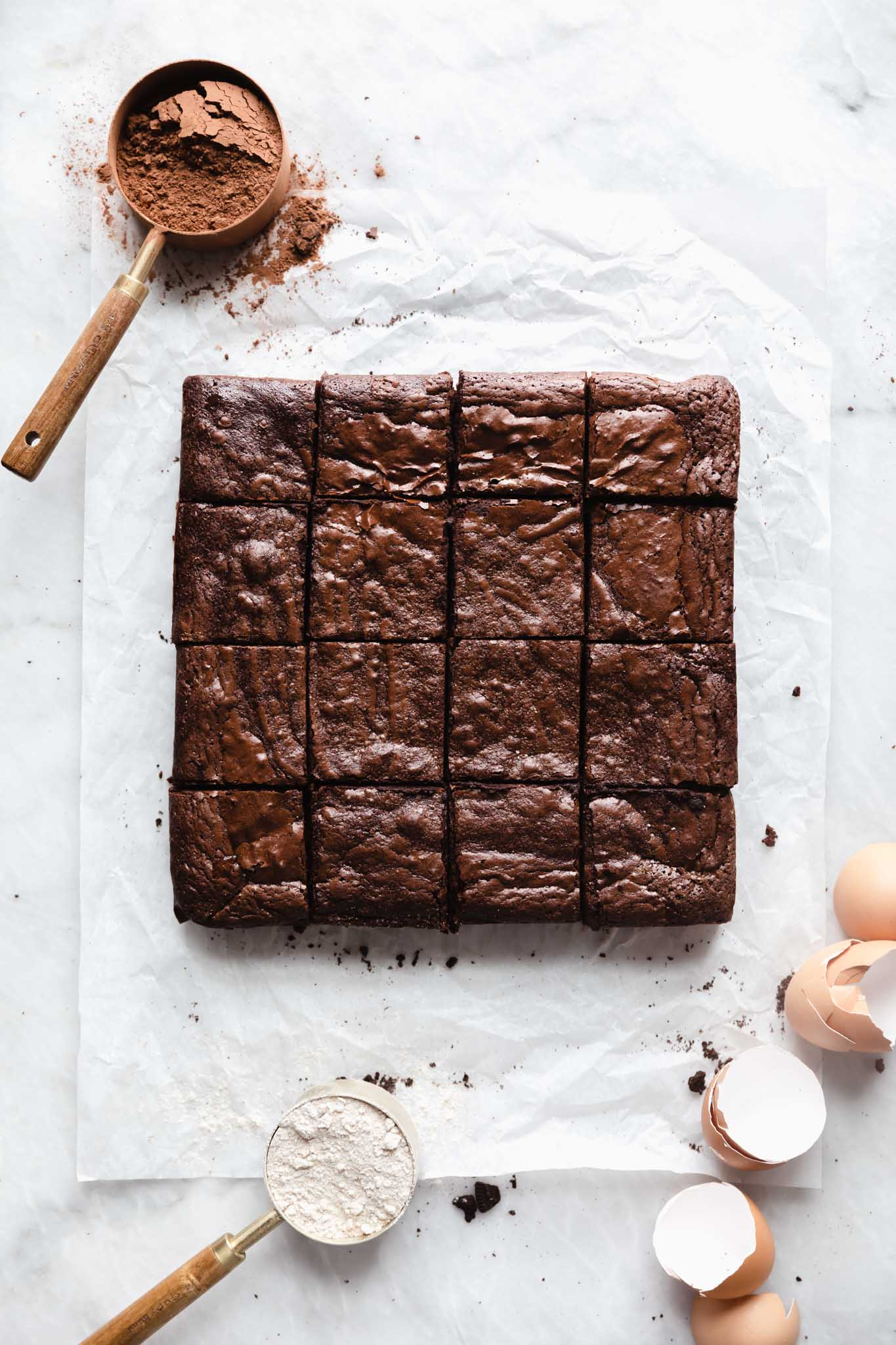 Fudgy AND cakey brownies to satisfy anyone's craving. This step by step recipe breaks down exactly how to make the best brownie ever.