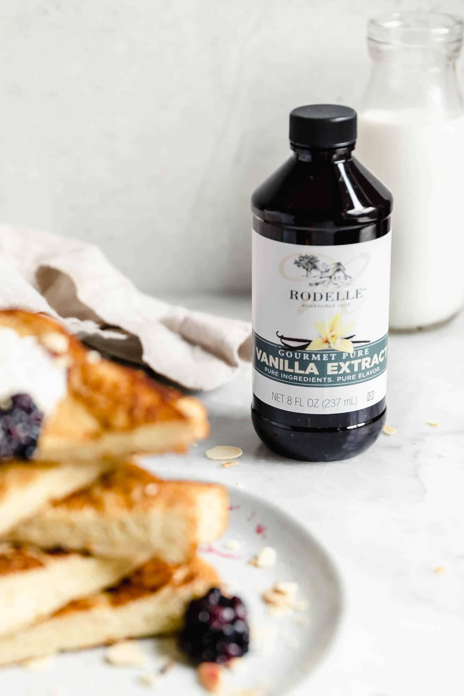 rodelle vanilla extract with vanilla french toast