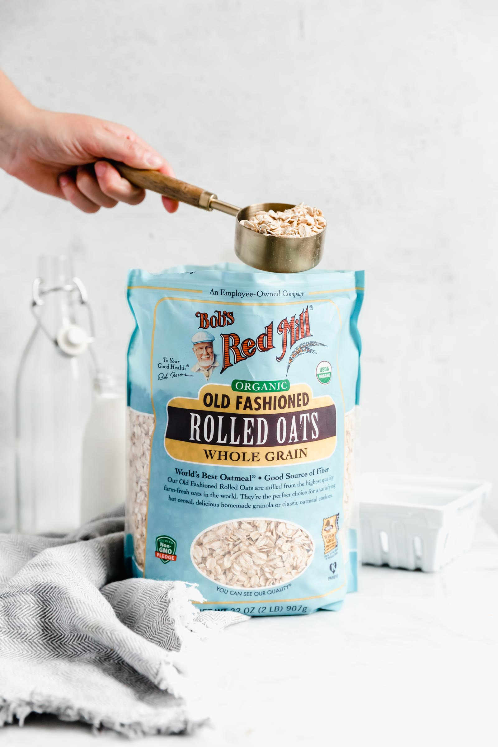bob's red mill flours rolled oats
