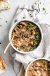Instant Pot Mushroom Rice Soup Recipe