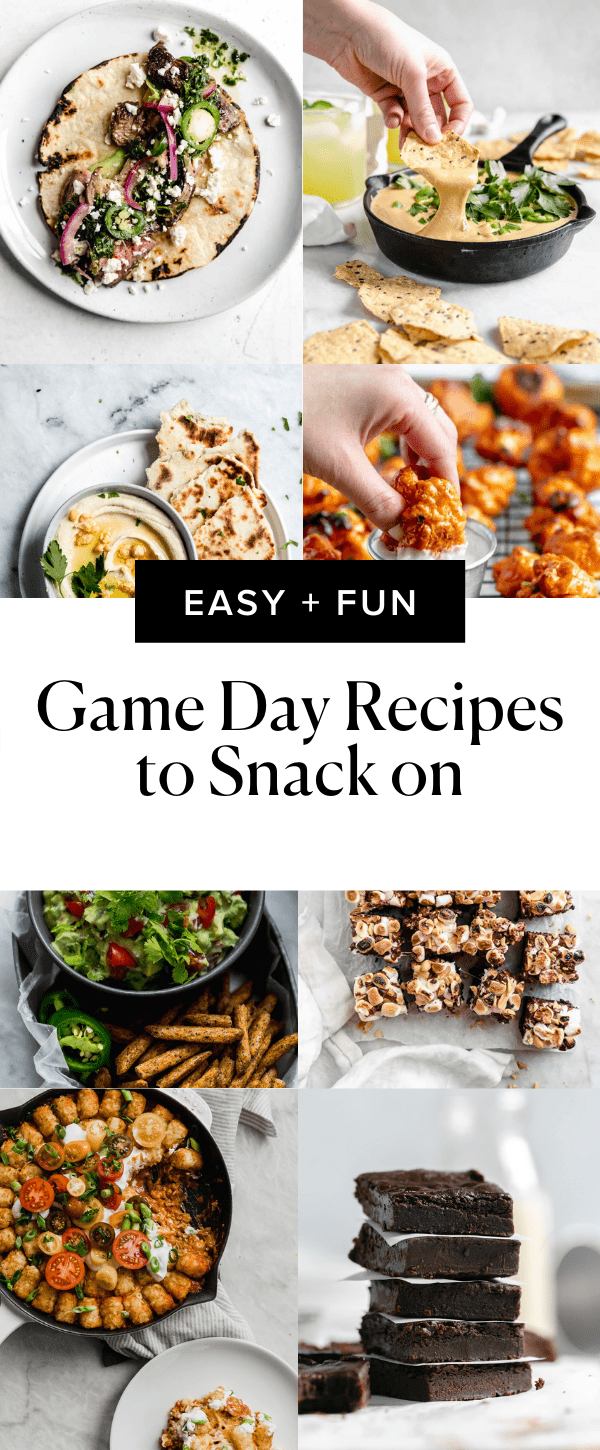 super bowl recipes pin