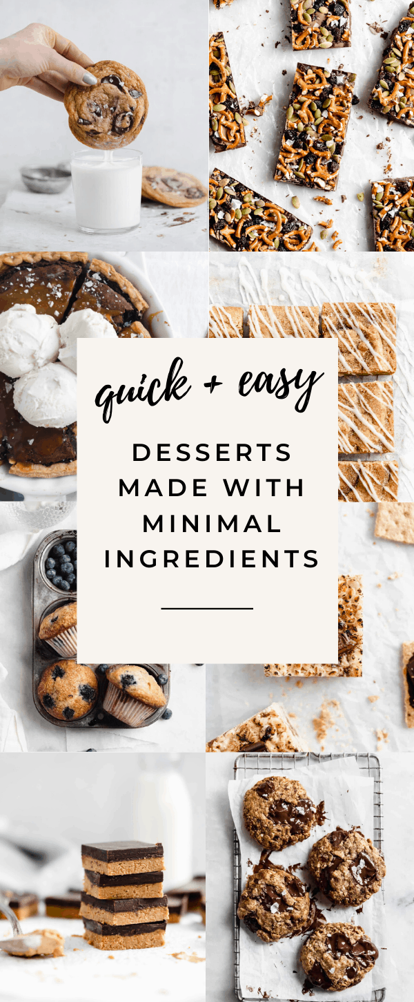 17 Easy Desserts With Few Ingredients Broma Bakery
