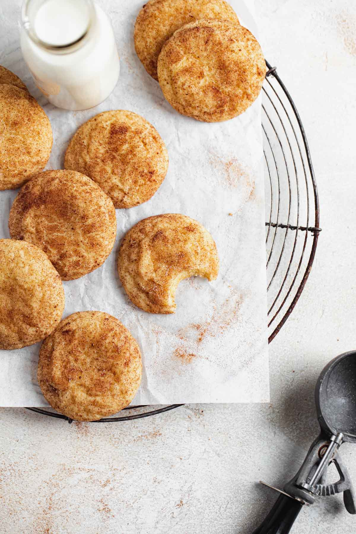 soft snickerdoodles recipe