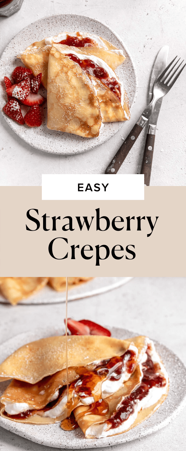 strawberry crepes pin