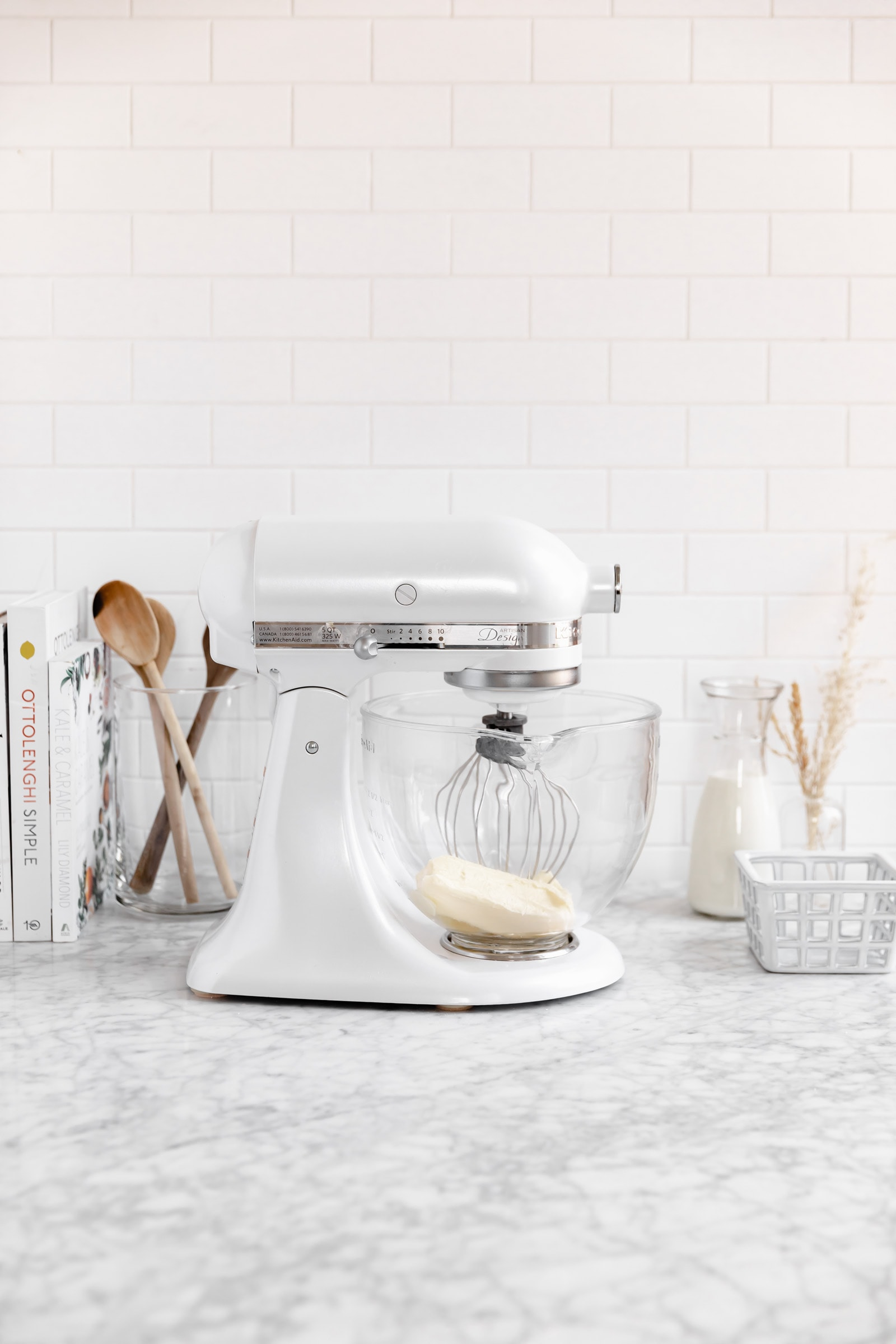 stand mixer with butter