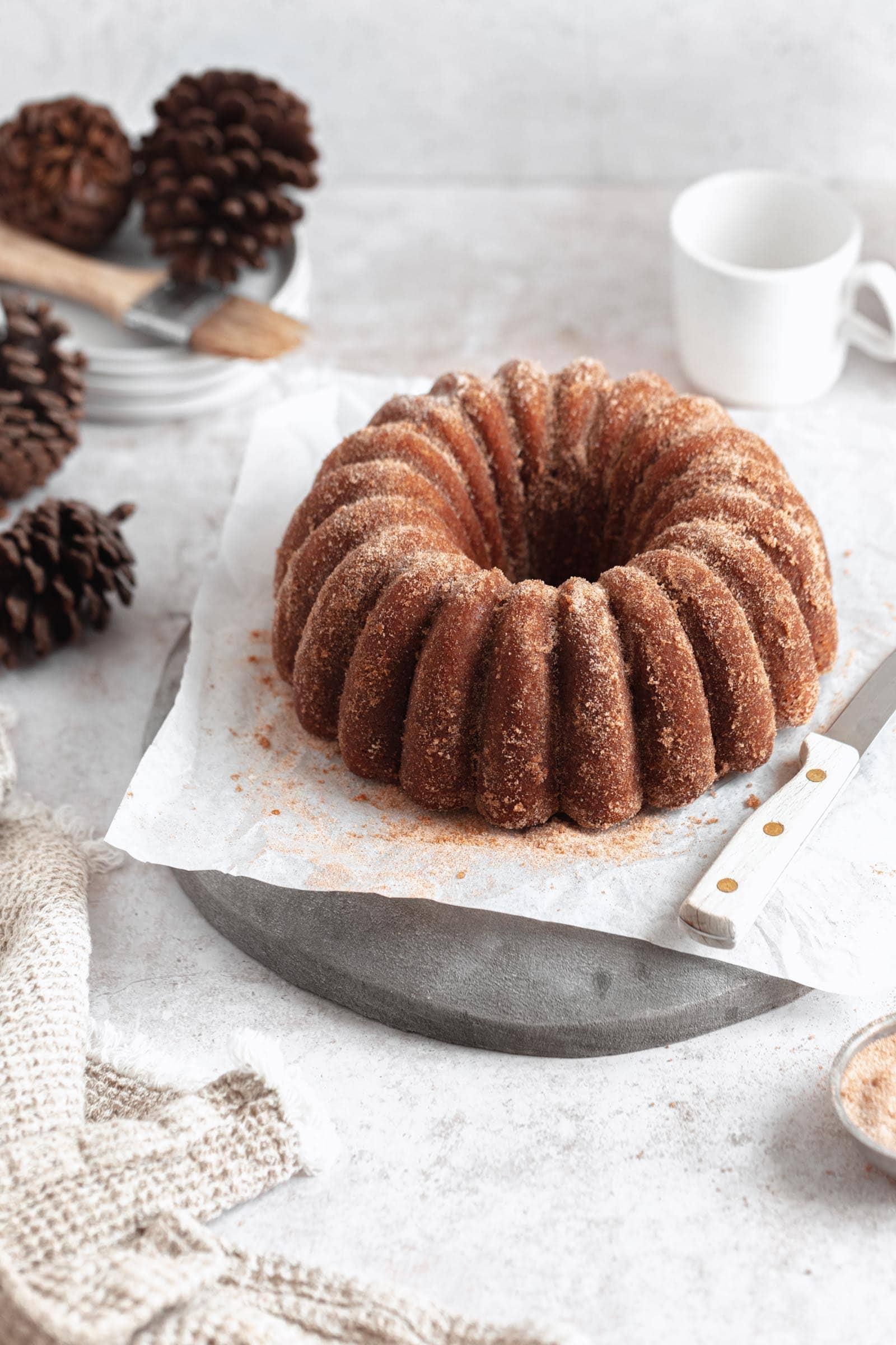 apple cider donut bundt cake