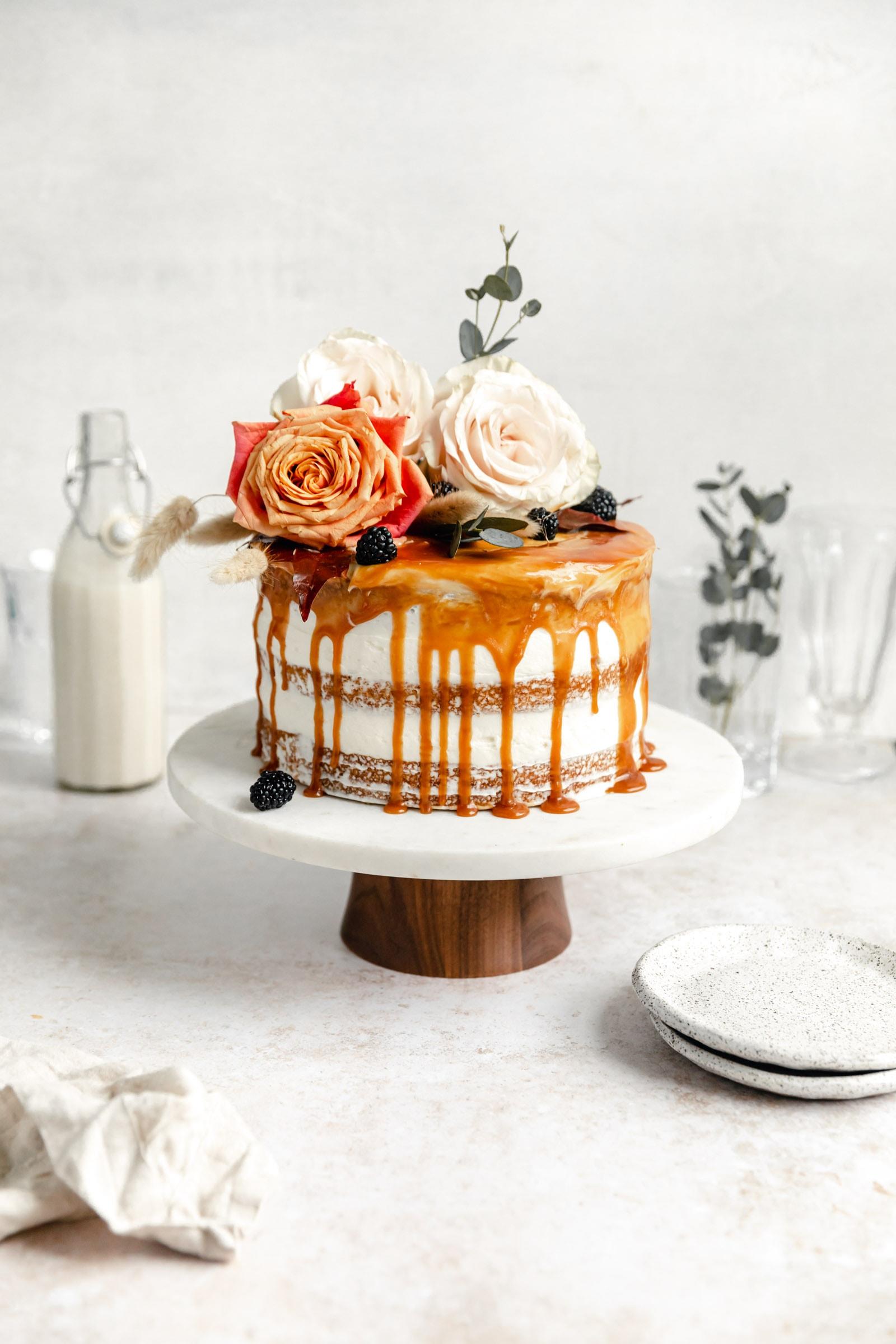 gâteau aux carottes à la cardamome