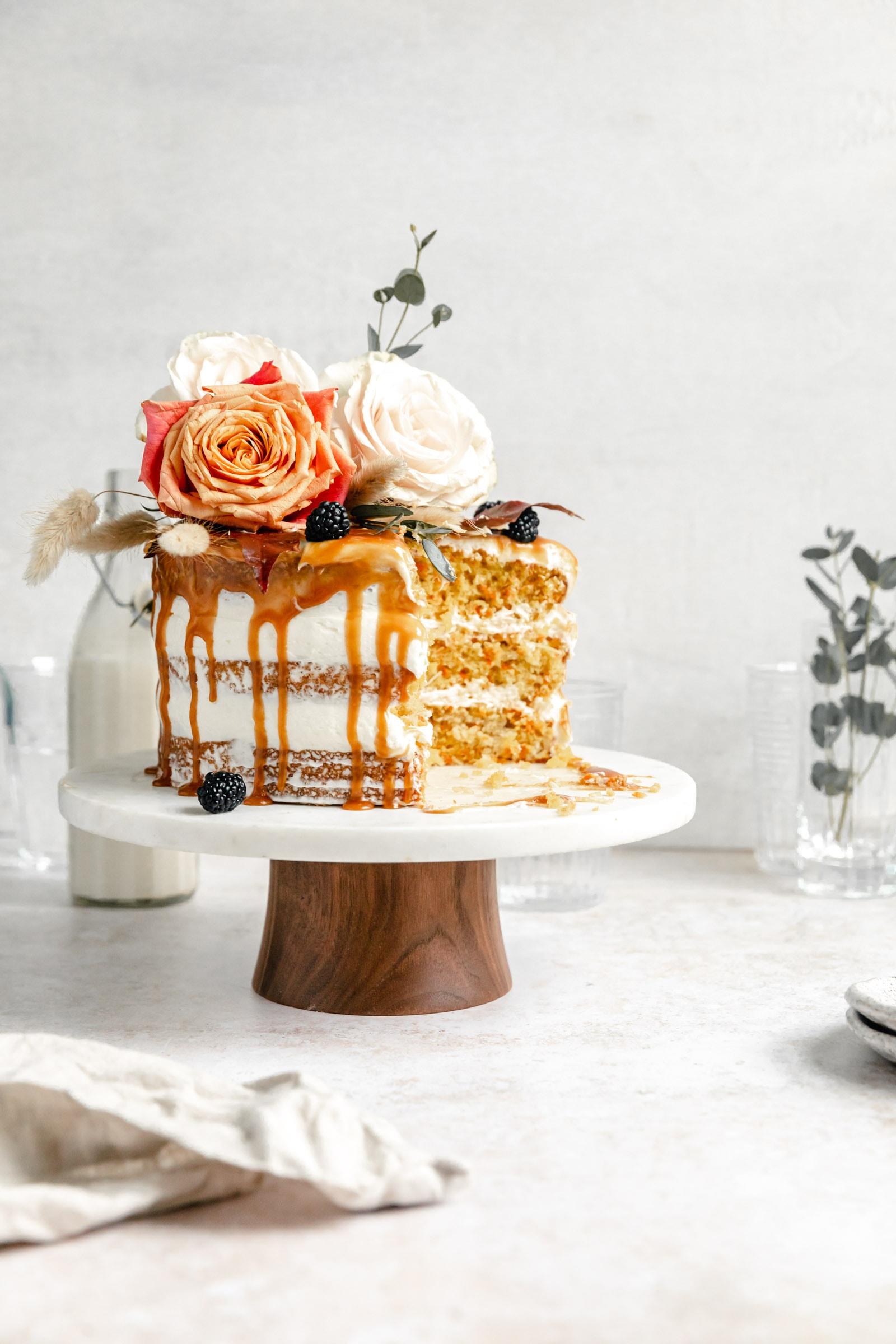cardamom carrot cake