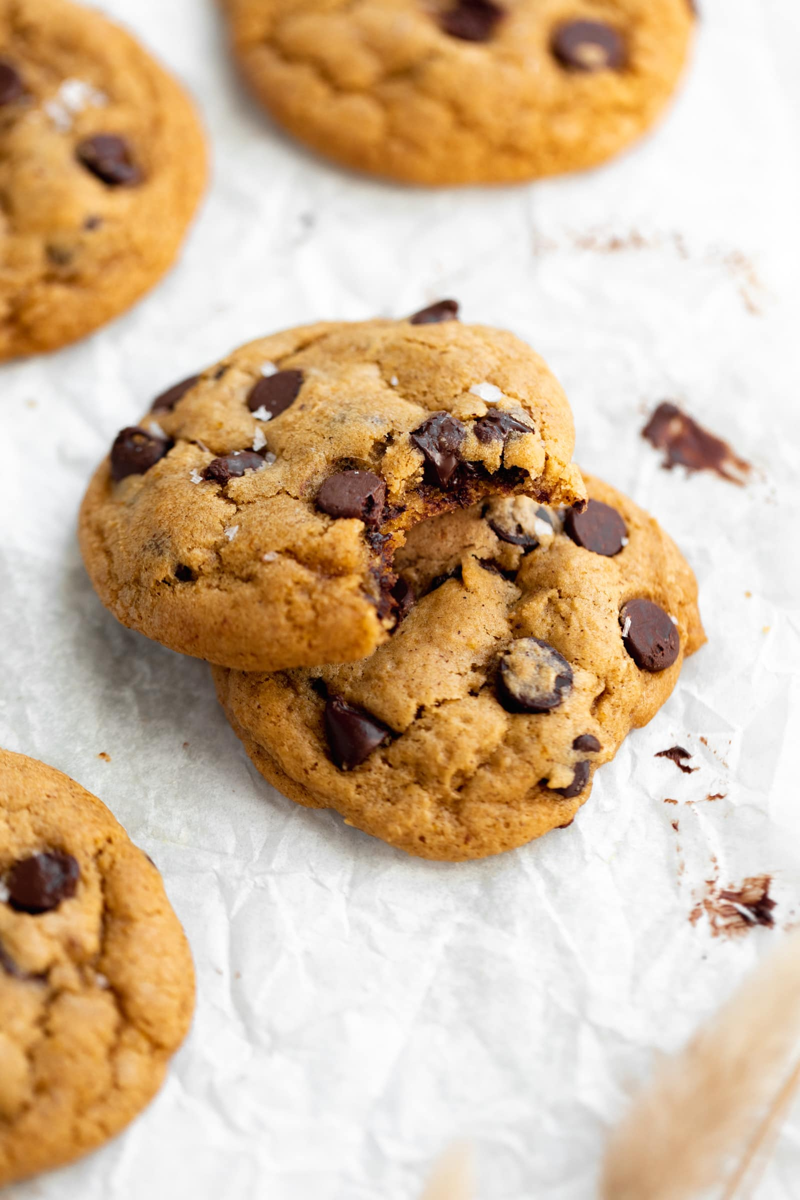 chewy pumpkin chocolate chips