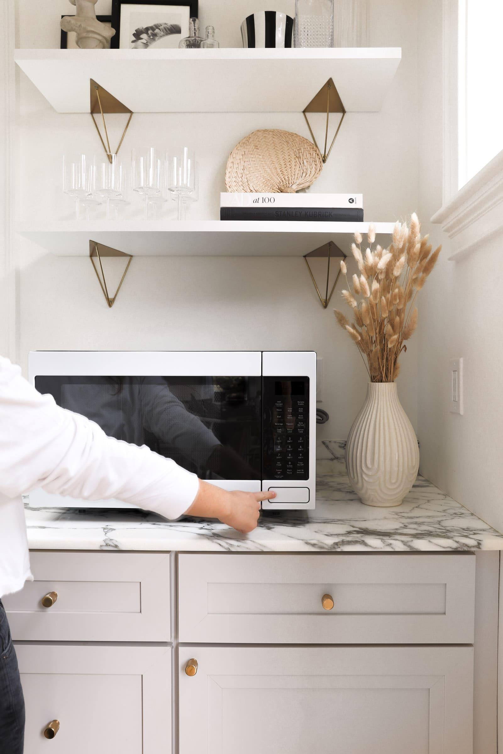 cafe appliances microwave