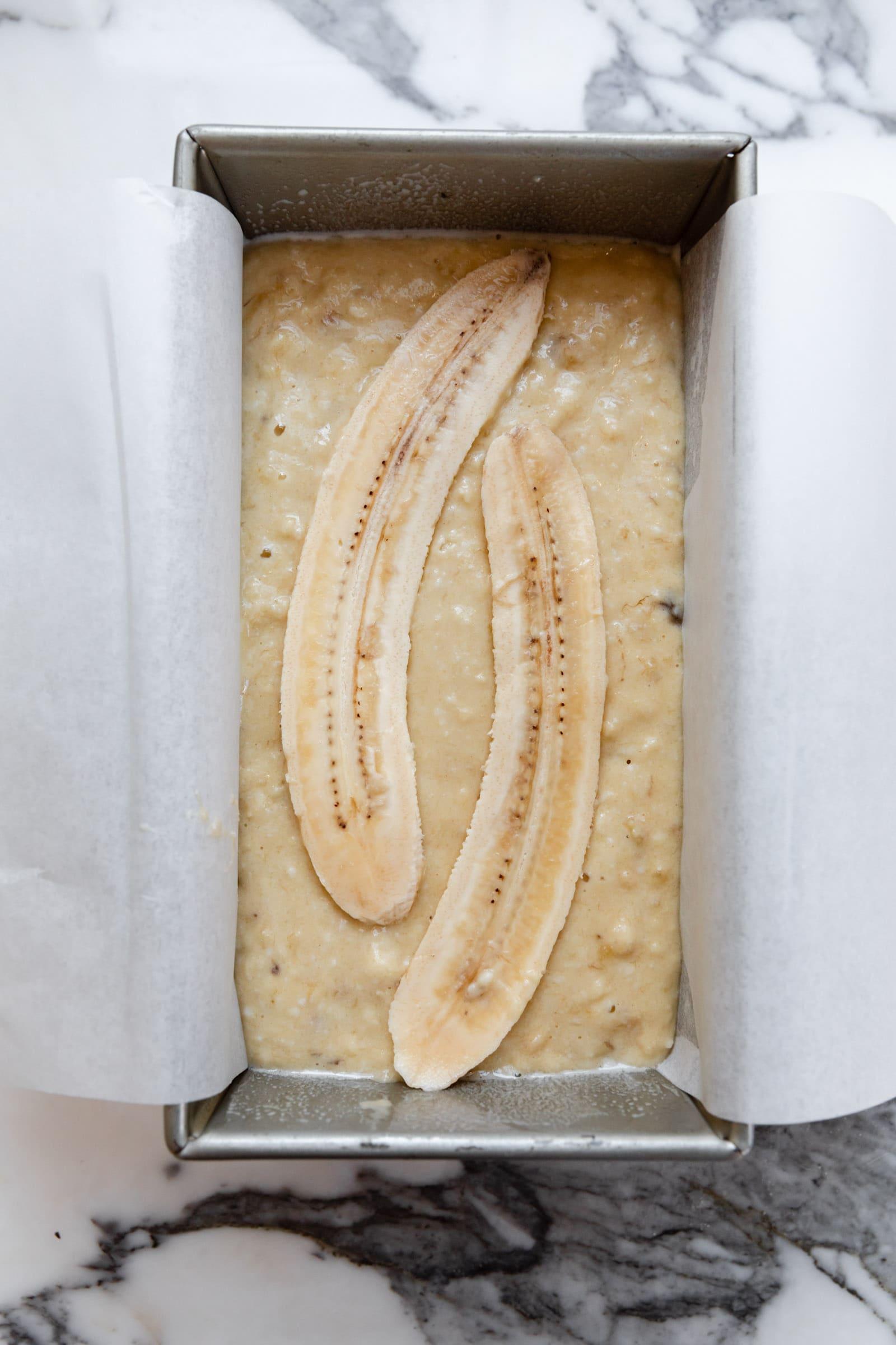 egészségesebb banán kenyér folyamat lövés