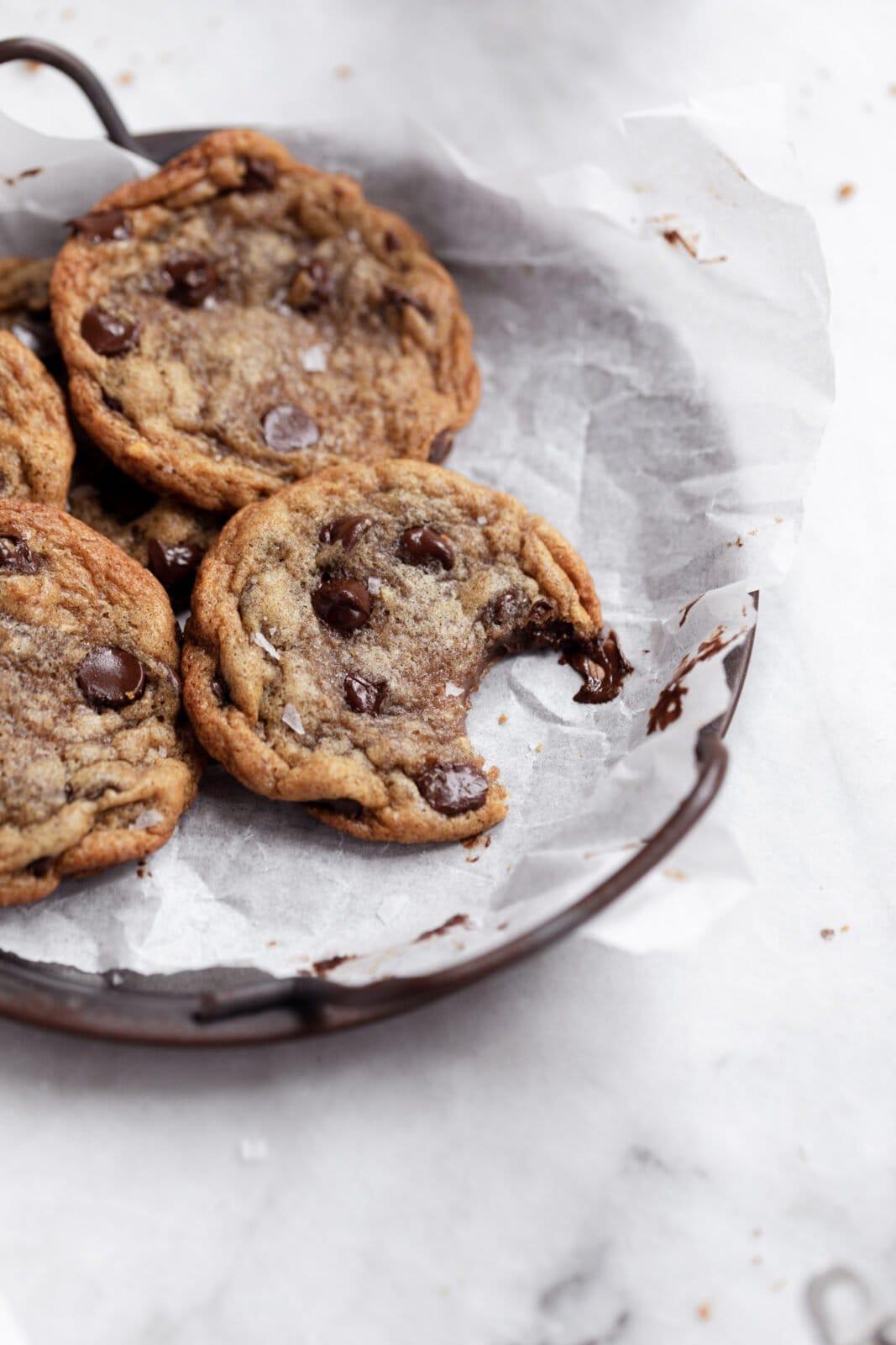 banana bread chocolate chip cookies vegan