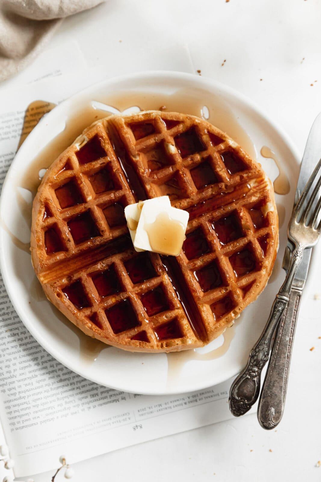 fuffy belgian waffles
