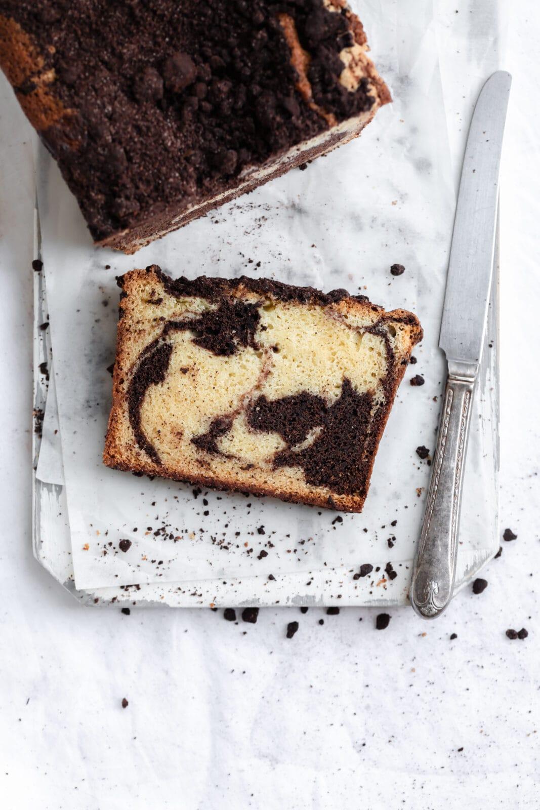 espresso marble cake
