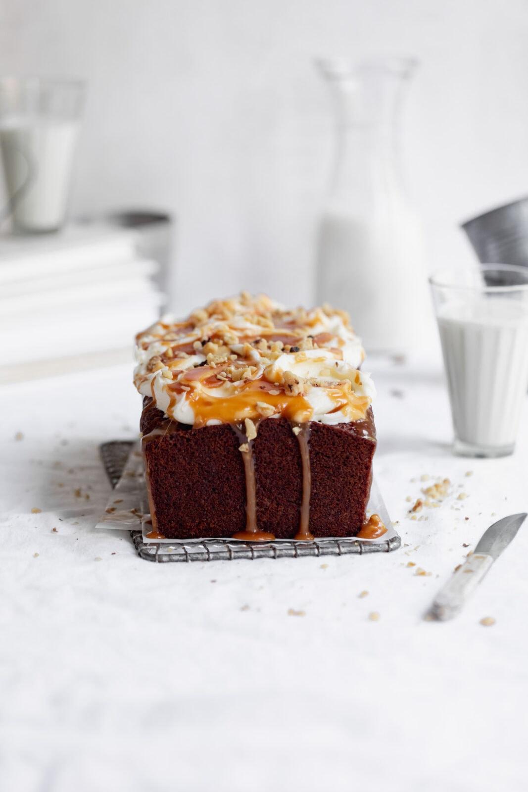 carrot cake loaf cake