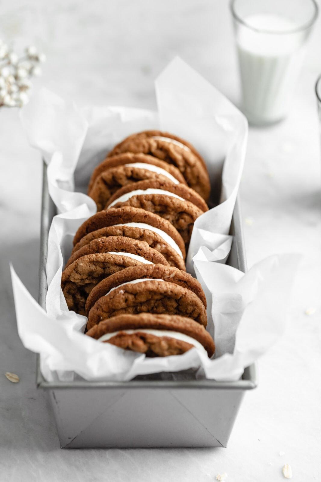 copycat oatmeal cream pie cookies