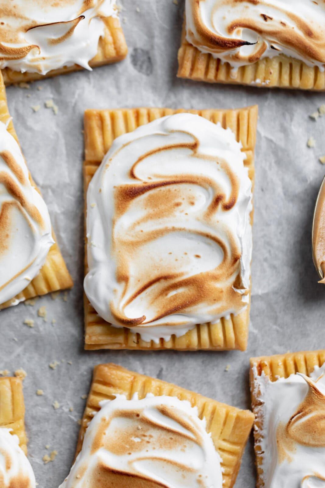 peanut butter and fluff homemade pop tart