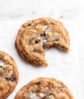 brown butter oatmeal cookies with raisins